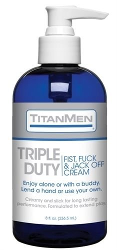 JACK OFF CREAM AND TRIPLE DUTY FIST includes unique 20%