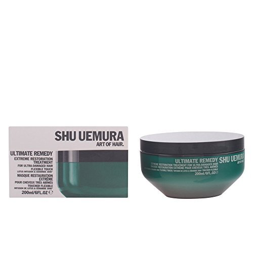 Shu Uemura Ultimate Remedy Extreme Restoration Treatment for Ultra-Damaged Hair, 6 Ounce