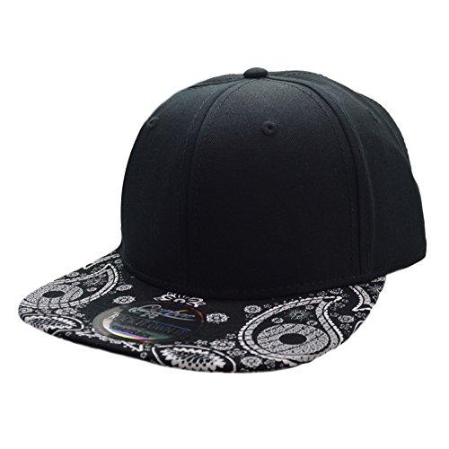 Carbon212 - Gorra de béisbol - para Hombre Negro Negro Taille Unique