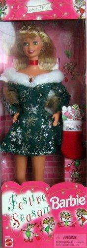 Festive Season Barbie Doll Special Edition (1997) -