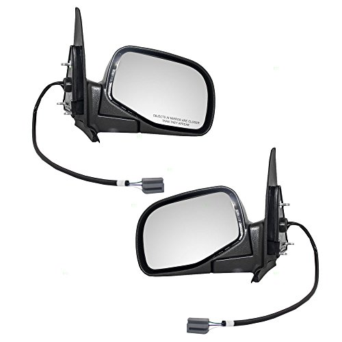 2004 Ford Ranger Mirror - Driver and Passenger Power Side View Mirrors Replacement for Ford Mazda Pickup Truck ZZM5-69-180 ZZM5-69-120 AutoAndArt