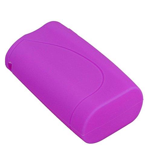 IPV Vesta 200w TC Box Cool Accessories -Silicone Holder Cover Case Pouch Sleeve -MOONHOUSE (Purple)