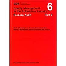 VDA 6.3 : 2016 Process Audit 3rd revised edition