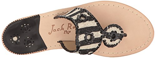 Jack Dress Black Marian Sandal Rogers Women's rTqw4xrg8
