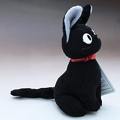 Kiki's delivery Service Jiji Plush Doll M Size Studio Ghibli Japan by Sunarrow: Toys & Games