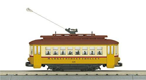 O Gauge RailKing Bump-n-Go Trolley - Market Street ()