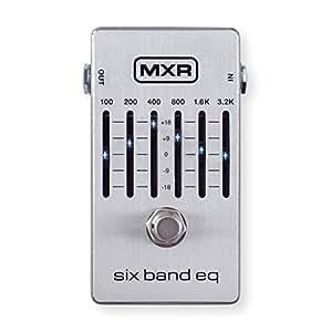 mxr m109s six band eq guitar effects pedal musical instruments. Black Bedroom Furniture Sets. Home Design Ideas