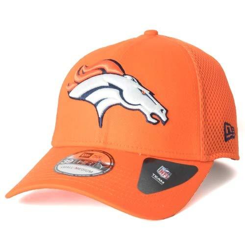 内側スポットジョリーNew Era(ニューエラ) デンバー?ブロンコス キャップ/帽子 39THIRTY メガチーム ネオ (オレンジ)