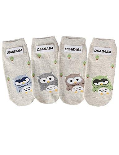OSABASA Women Sweet Animal Socks