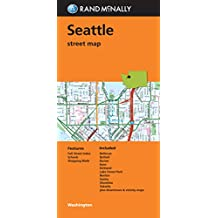 Rand McNally Seattle, Washington Street Map