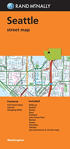 Map of Seattle Amazoncom