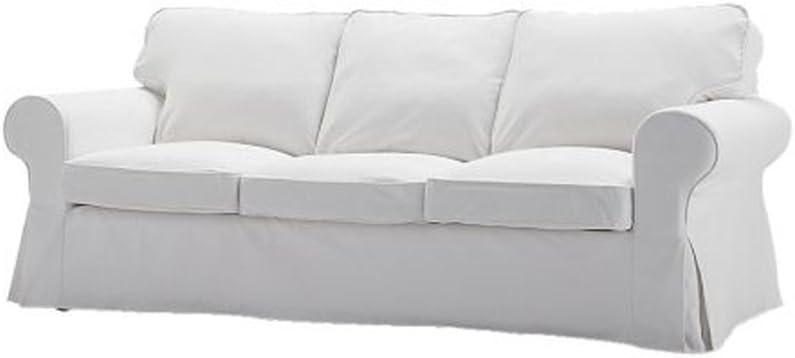 Ikea EKTORP sofá Cubierta, Blekinge Blanco (Solo Funda): Amazon.es ...