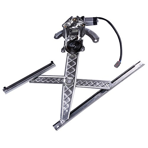 LUJUNTEC 741-620 Front Left Drivers Side Replacement Power Window Regulator with Motor Assembly fit for 1997-1998 Ford F-150 F-250 Lobo (Mexico) ()