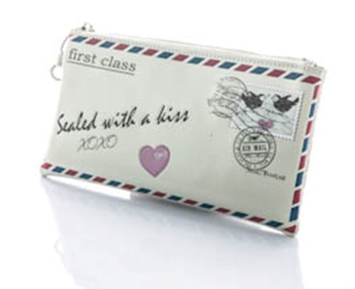 Amazon.com: Vintage Love Letter Clutch-Purse by ShagWear Canada CLT0663: Beauty