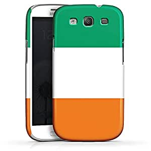 Carcasa Design Funda para Samsung Galaxy S3 i9300 / LTE i9305 PremiumCase white - Flag of Ivory Coast
