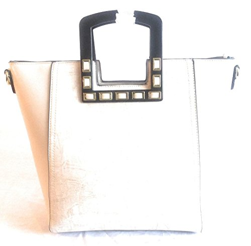 and Purse Suede Womens Leather Cream EqwBOB