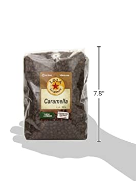 2lb Bag Caffeinated Lola Savannah Butter Toffee Whole Bean Coffee Old Fashioned Toffee Flavored Arabica Beans with Sweet Cream /& Sugar