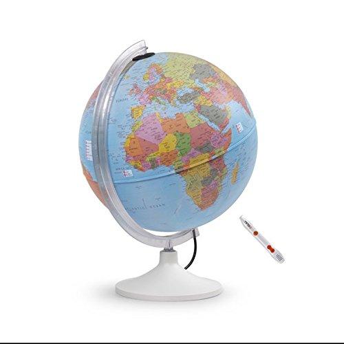 Parlamondo: Interaktiver Globus mit TING(TM)-Stift (Interaktiver Globus mit Hörstift) Landkarte – Globe, 1. Juli 2017 Räthgloben Räthgloben 1917 3946606032 Geographische Einheiten
