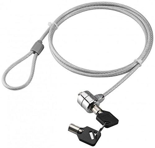 PC Ordenador Portatil Candado Seguridad Candado cable de acero 2 llave 1,5 m (