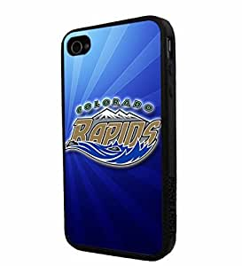 Zheng caseZheng caseSoccer MLS Colorado Rapids FC LOGO SOCCER FOOTBALL, Cool iPhone 4/4s / 4s Smartphone iphone Case Cover Collector iphone TPU Rubber Case Black