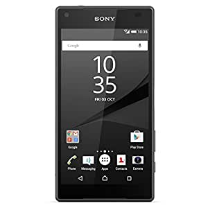 Sony Xperia Z5 Compact E5803 Unlocked GSM 4G LTE Octa-Core Android Phone - Black (Certified Refurbished)