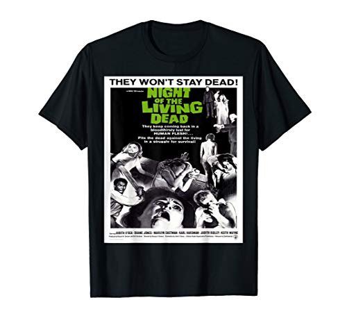 Night of Living Dead - Vintage Zombie Movie T Shirt ()