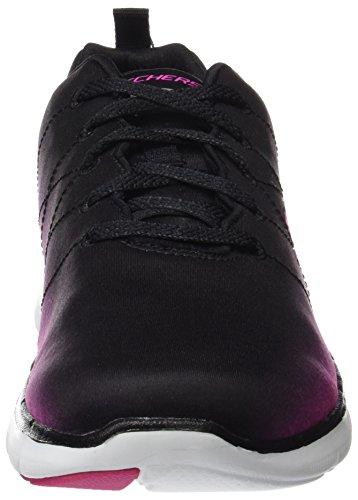 Negro Bkhp Appeal Exterior de Deporte 0 Skechers Mujer Zapatillas Flex para 2 gfwZWqvp