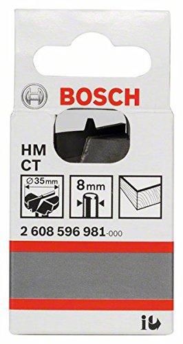Bosch 2608596981 M/Ã/¨che pour charni/Ã/¨res invisibles /Ã/ mise rapport/Ã/©e en carbure /Ã/˜ 35 mm Longueur 56 mm