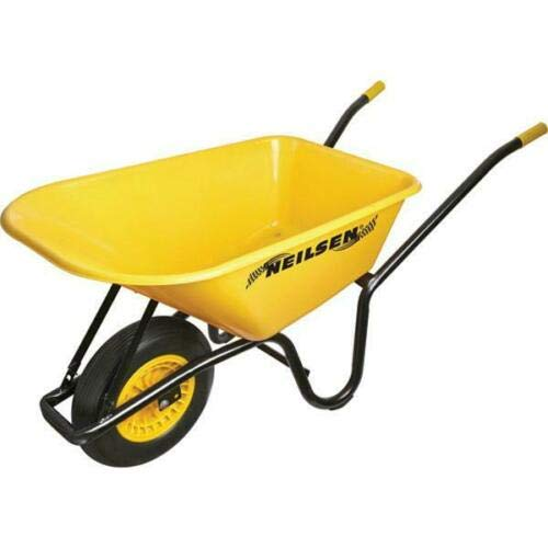 90-Litre-Heavy-Duty-Large-Wheel-Barrow-Garden-Wheel-Barrow-160KG-Solid-TYRE