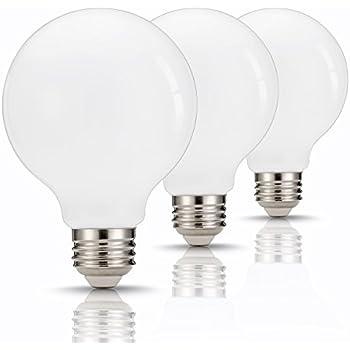 Tgmold G25 Led Bulbs 60watt Equivalent Globe Light Bulb