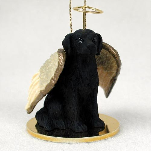 Conversation Concepts Flat Coated Retriever Pet Angel Ornament