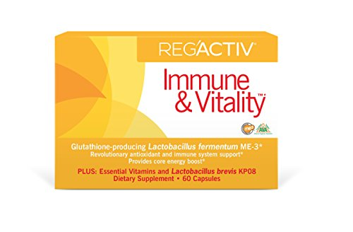 Reg'Activ Immune & Vitality Capsules, 60 Count (Vitality Supplement Basic)