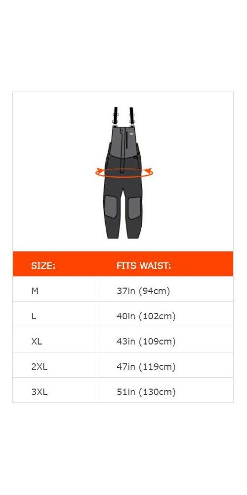 Ergodyne N-Ferno 6471 Men's Winter Thermal Work Bib Overalls, Black, Large by Ergodyne (Image #6)