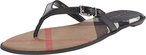 BURBERRY Women's Meadow Black 38 (US Women's 8) B - Medium by BURBERRY