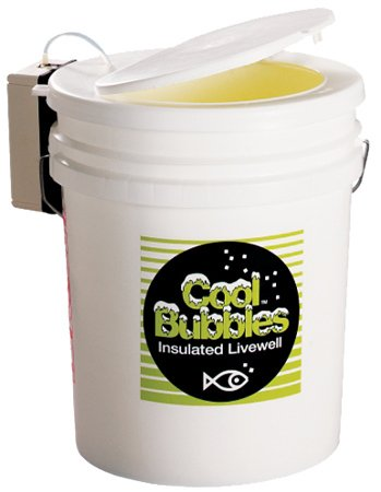 Marine Metal CB-35 Cool Bubbles 5 Gallon, Insulated Pail w/B-3 Pump