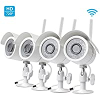 4-Pk. Zmodo 720p HD Home Wireless Security Surveillance System