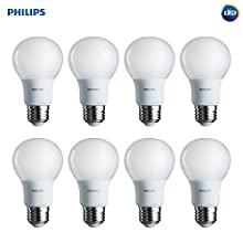 Philips LED Non-Dimmable Frosted Light Bulb