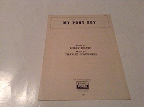 MY PONY BOY SHEET MUSIC (Boy Sheet Music Pony)