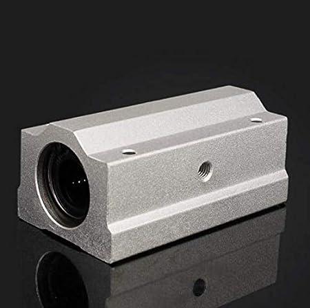 12mm Atfipan SCS8//10//12//16//20LUU Linear Axis Ball Bearing Block Long Bearing Block