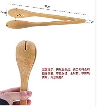 Xing Lin Ensalada Pinzas BakerS Kitchen Bambú Clip Comida ...