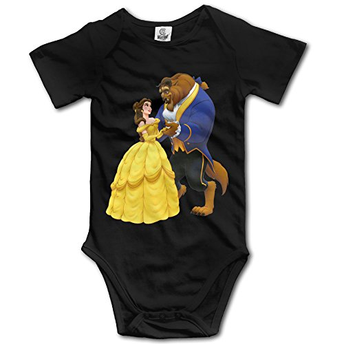 [Beauty And The Beast - POY-SAIN Fashion Kids' Baby Romper Suit Climb Clothes Size6 M Black] (Maleficent Toddler Costumes)
