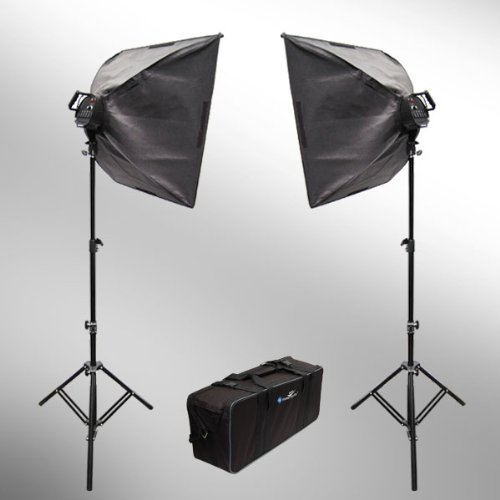Studio Lighting Reviews: Limostudio 2000W Digital Photography Studio Softbox