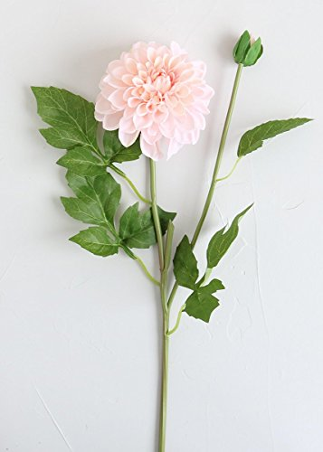 Blush Garden Dahlia Silk Flower - 25