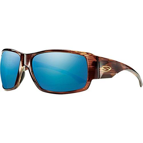 Smith Optics Dockside Lifestyle Polarized Sunglasses, Havana/Chromapop Blue Mirror (Sunglasses Havana Smiths)
