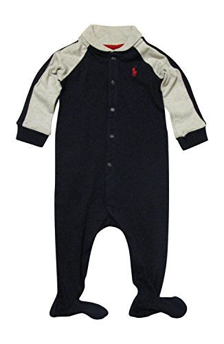 【予約販売品】 Ralph Lauren Baby [並行輸入品] Boys Cotton Boys Shawl Collar Baby Coverall (3 Months Navy) [並行輸入品] B07HLH6R29, Maru。まるしぇ【LOHASな生活】:efe31b70 --- efichas.com.br