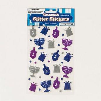 Rite Lite TY-14345 Chanukah Glitter Stickers by Chanukah Stickers (Chanukah Stickers)