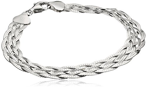 Italian Braided Herringbone Bracelet