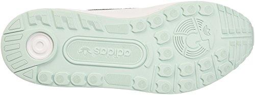 adidas ZX Flux ADV, Scarpe da Ginnastica Uomo Grigio (Vapste/Vapgrn/Ftwwht)