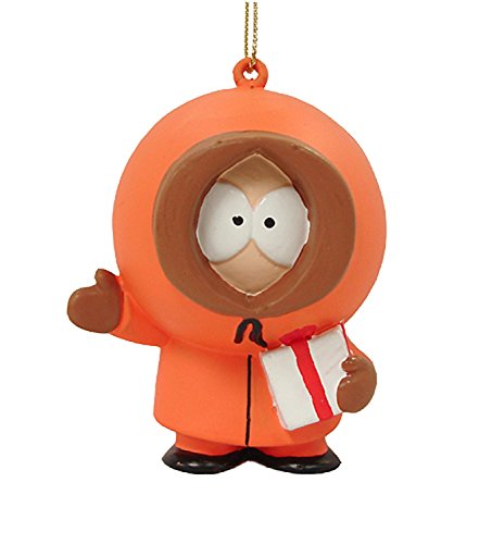 Click for larger image of Kurt Adler South Park Kenny with Gifts Christmas Ornament