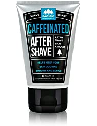 Pacific Shaving Company - Caffeinated Aftershave, Best Aftershave Moisturizer Balm - Helps Reduce Appearance of Razor-Burn, Safe Ingredients, Travel/TSA Compliant